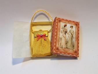 Vintage Purse with Box - Ladies of Fashion No2