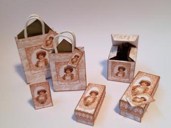 Kit - Vintage Girl No 4 Boxes & Bags