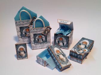 Kit - Vintage Girl No 3 Boxes & Bags