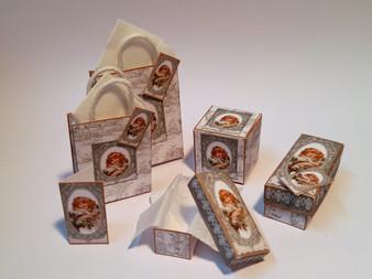 Kit - Vintage Girl No 2 Boxes & Bags