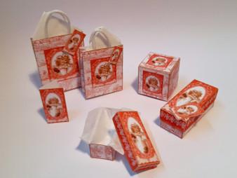Kit - Vintage Girl No 1 Boxes & Bags