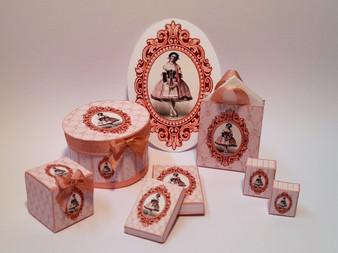 Kit  - Lady Deloris Ballet Presentation Box & Bag Kit