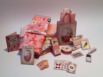 Download - Haberdashery set - Pink
