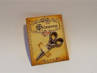 Classic Collection Scissors Card Display