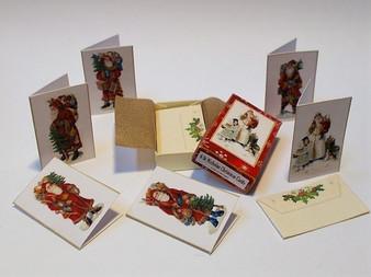Box of Christmas Cards - Santa Claus