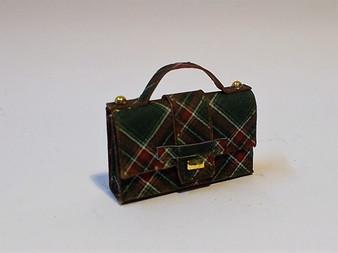 Plaid Handbag/purse No2