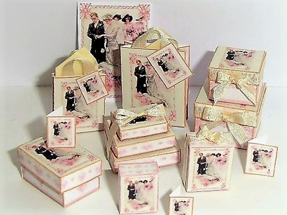 Download - Edwardian Wedding Boxes and bags