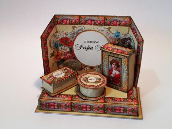 Download - Perfect Rose Perfume Display Stand