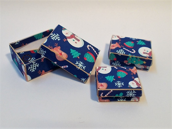 Download - Christmas Seasonal Boxes - Navy
