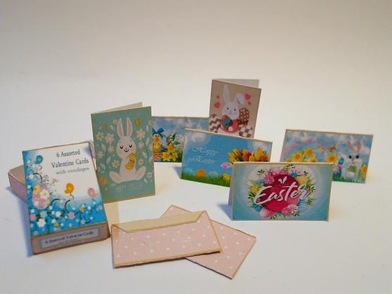 Kit - Box of Easter Cards Modern