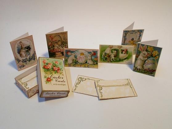 Kit - Box of Easter Cards Vintage