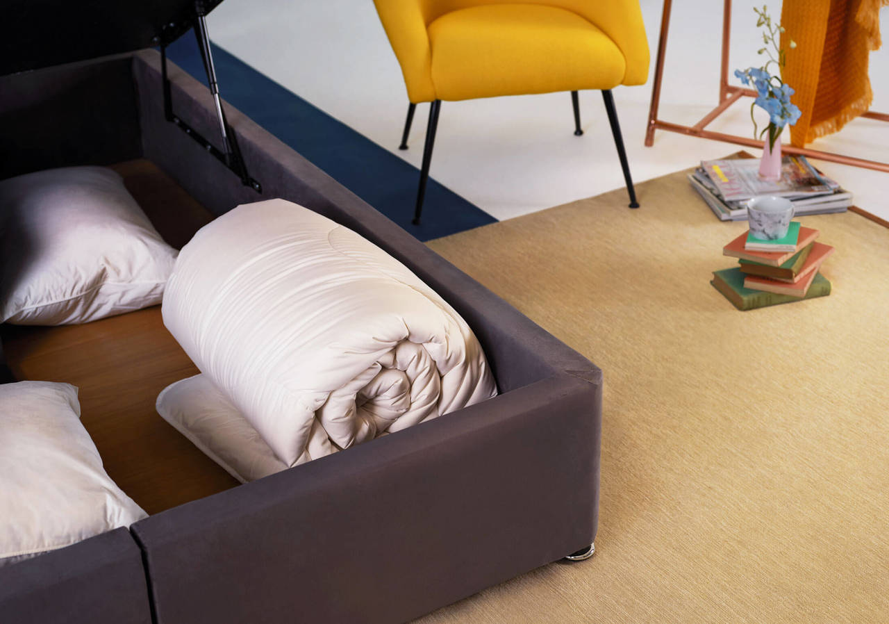 The Ottoman Bed Base Storage