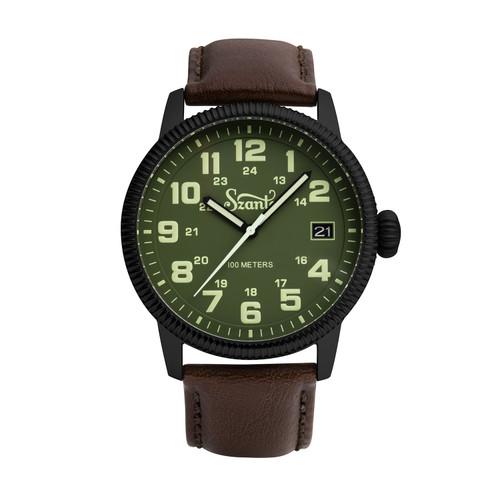 Szanto Military Field Quartz Watch 1127