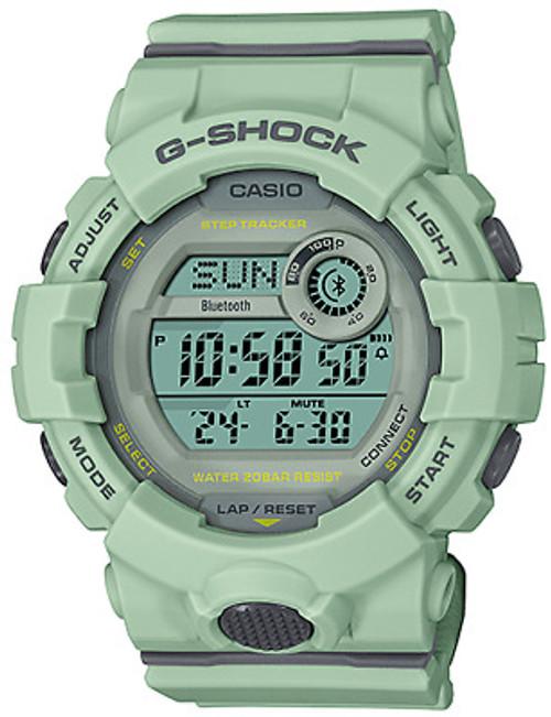 Casio G-shock Gmdb800 Digital Step Tracker Mint Green Women's Watch GMDB800SU-3 - Regular