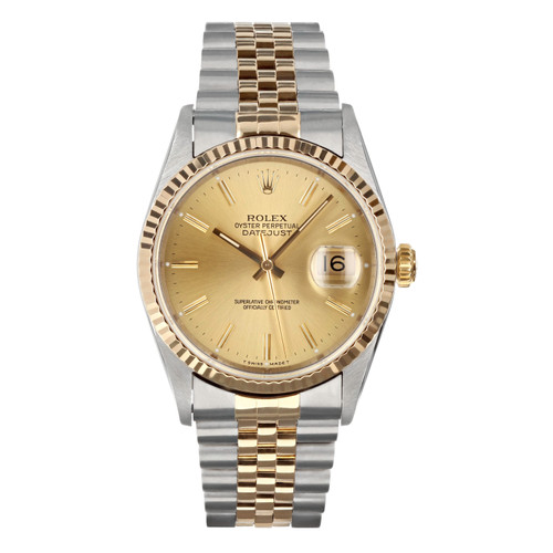 Rolex Pre Owned Mens Datejust 16233 #10100
