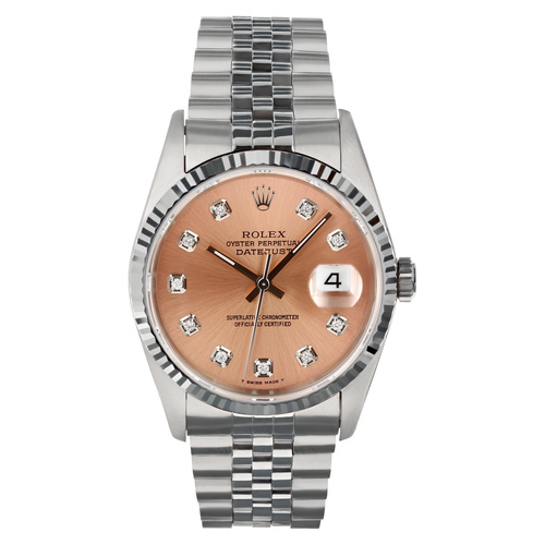 Rolex Pre Owned Mens Datejust 16234 #10156