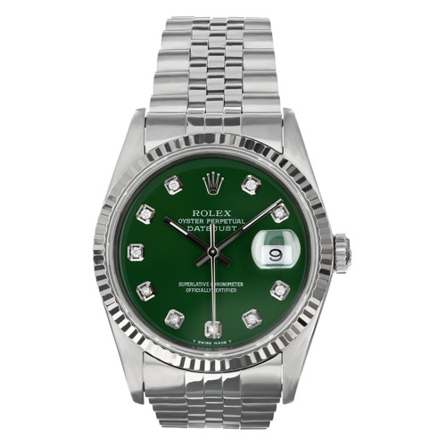 Rolex Pre Owned Mens Datejust 16234 #10159