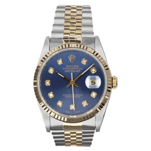 Rolex Pre Owned Mens Datejust 16233 #10202
