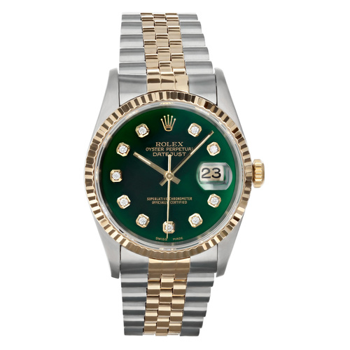 Rolex Pre Owned Mens Datejust 16233 #10209