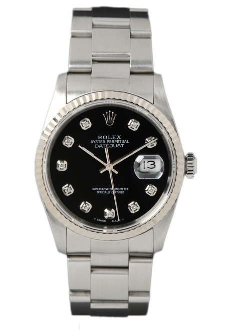 Rolex Pre Owned Mens Datejust 16220 #10221