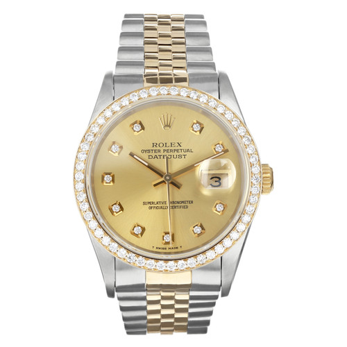 Rolex Pre Owned Mens Datejust 16233 #10300