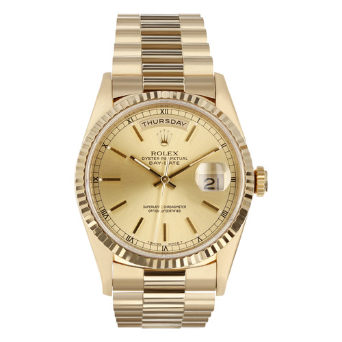 Rolex Pre Owned Mens Datejust 18238 #10360