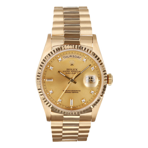 Rolex Pre Owned Mens Datejust 18238 #10460