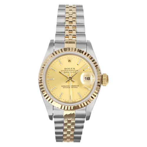 Rolex Pre Owned Womens Datejust 69173 #20100
