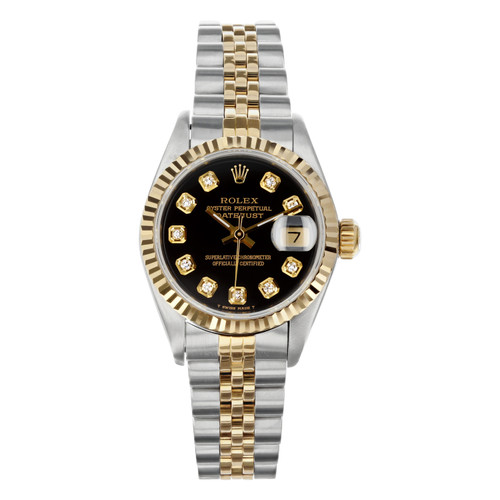 Rolex Pre Owned Womens Datejust 69173 #20201