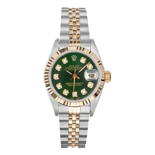 Rolex Pre Owned Womens Datejust 69173 #20209