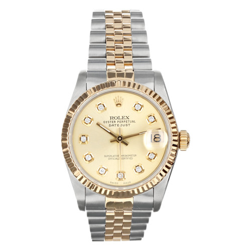 Rolex Pre Owned Womens Datejust 68273 #20220