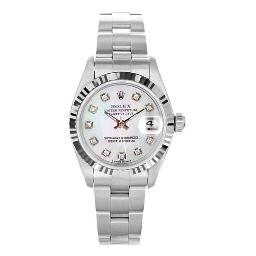 Rolex Pre Owned Womens Datejust 69174 #20365
