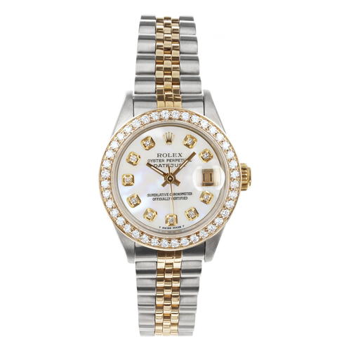 Rolex Pre Owned Womens Datejust 69173 #20405