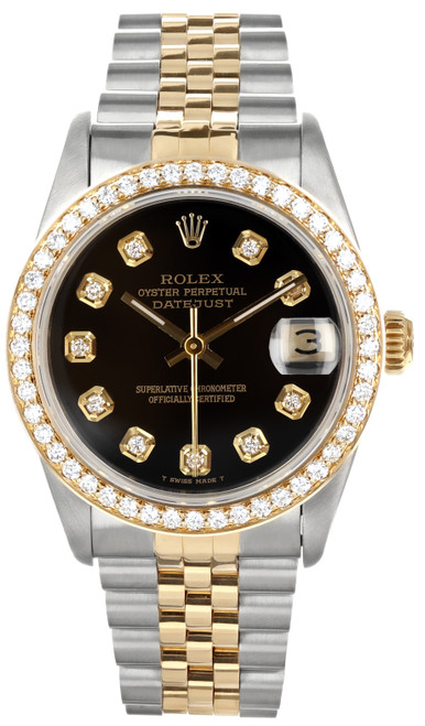 Rolex Pre Owned Womens Datejust 68273 #20431