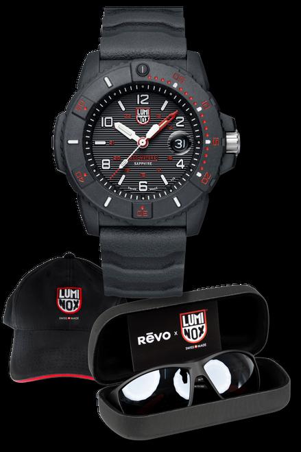 REVO x LUMINOX Set: Navy SEAL 3615 Watch + Sunglasses