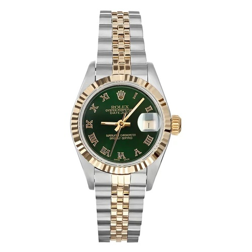 Rolex Pre Owned Womens Datejust 69173 #20109G