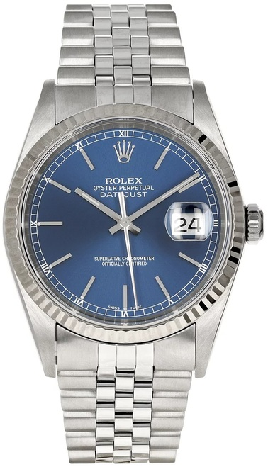 Rolex Pre Owned Mens Datejust 16234 #10002