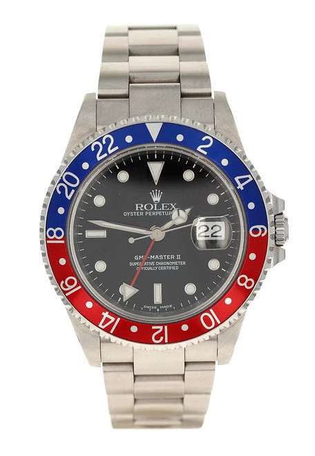 Rolex Pre Owned GMT Master II 16710 #10592