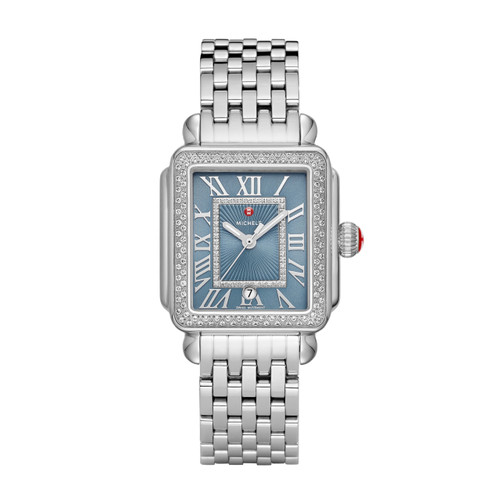 Michele Deco Madison Stainless-Steel Diamond MW06T01A1123