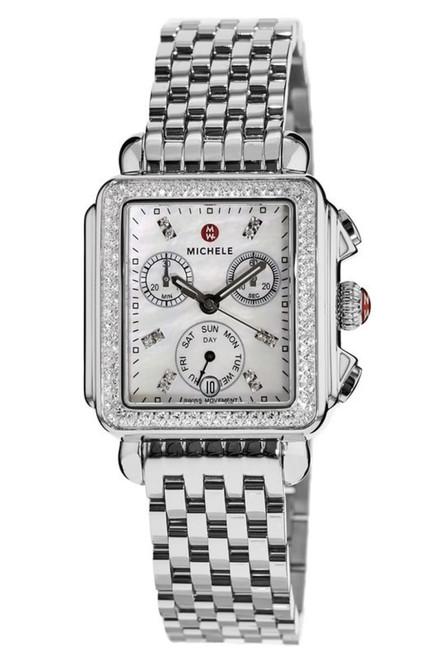 Michele  Deco Diamond, Diamond Dial Watch  MWW06P000099