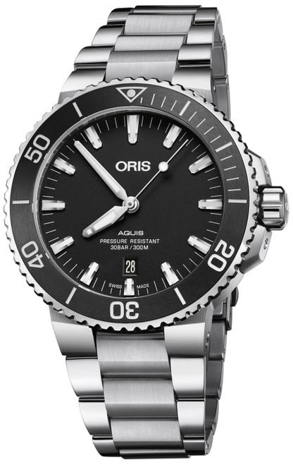 ORIS AQUIS DATE - 01 733 7730 4154-07 8 24 05PEB