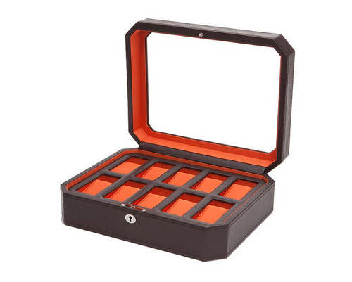 Wolf Windsor 10 Piece Watch Box 458406