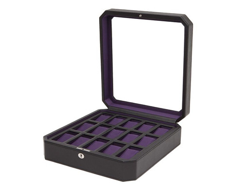 Wolf Windsor 15 Piece Watch Box 458503