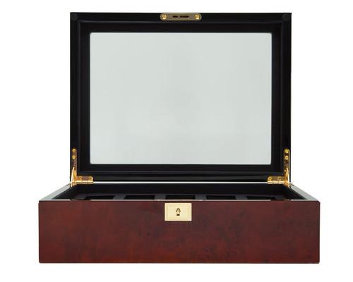 Wolf 461610 Savoy 10 Piece Watch Box