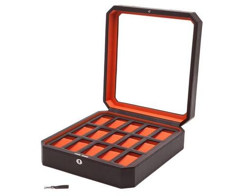 Wolf 458506 Windsor 15 Piece Watch Box