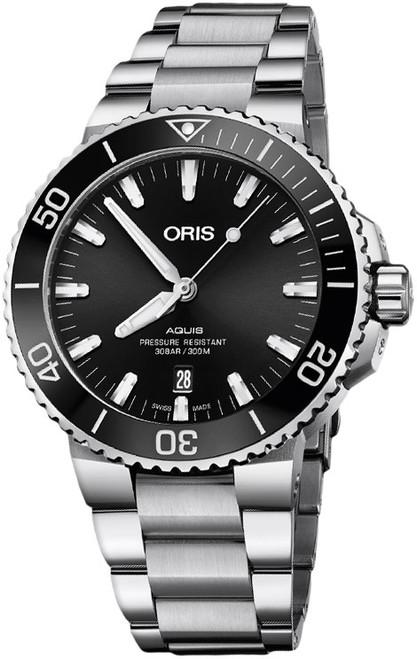 ORIS AQUIS DATE - 01 733 7730 4134 07 8 24 05PEB