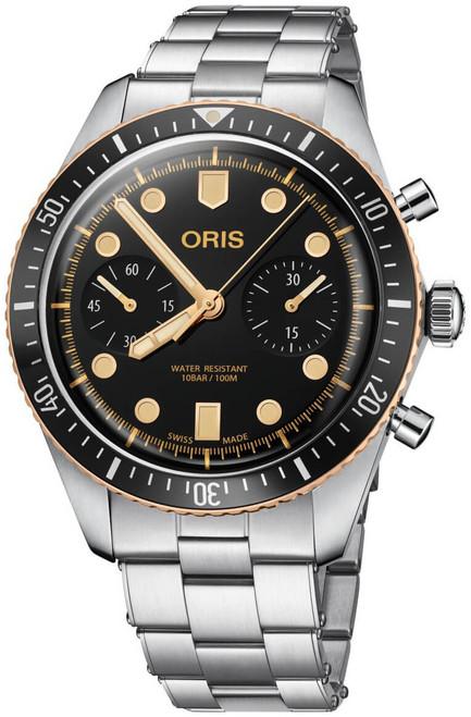 ORIS DIVERS SIXTY-FIVE CHRONOGRAPH 01 771 7744 4354-07 8 21 18