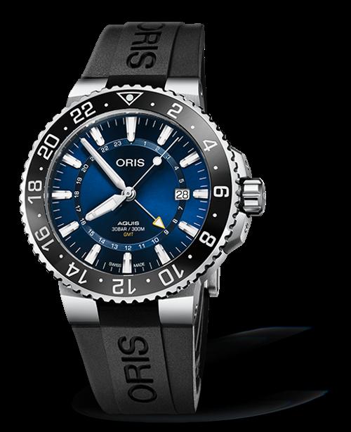 Oris Aquis GMT Date - 01 798 7754 4135 - 07 4 24 64EB