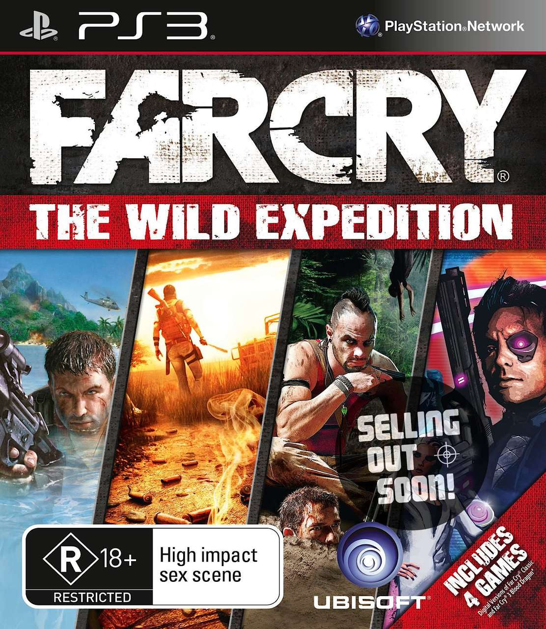 Far Cry The Wild Expedition Ps3 4 Game Compilation Rare