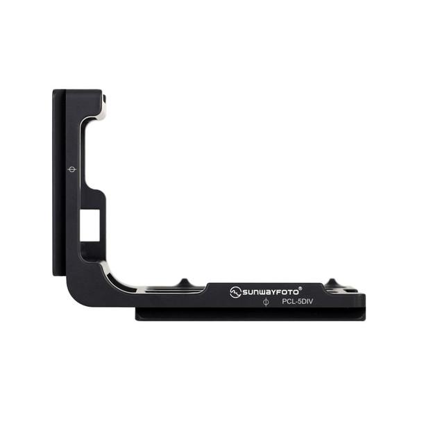 Sunwayfoto PCL-5DIV Custom L Bracket For Canon 5D IV (without Battery Grip)